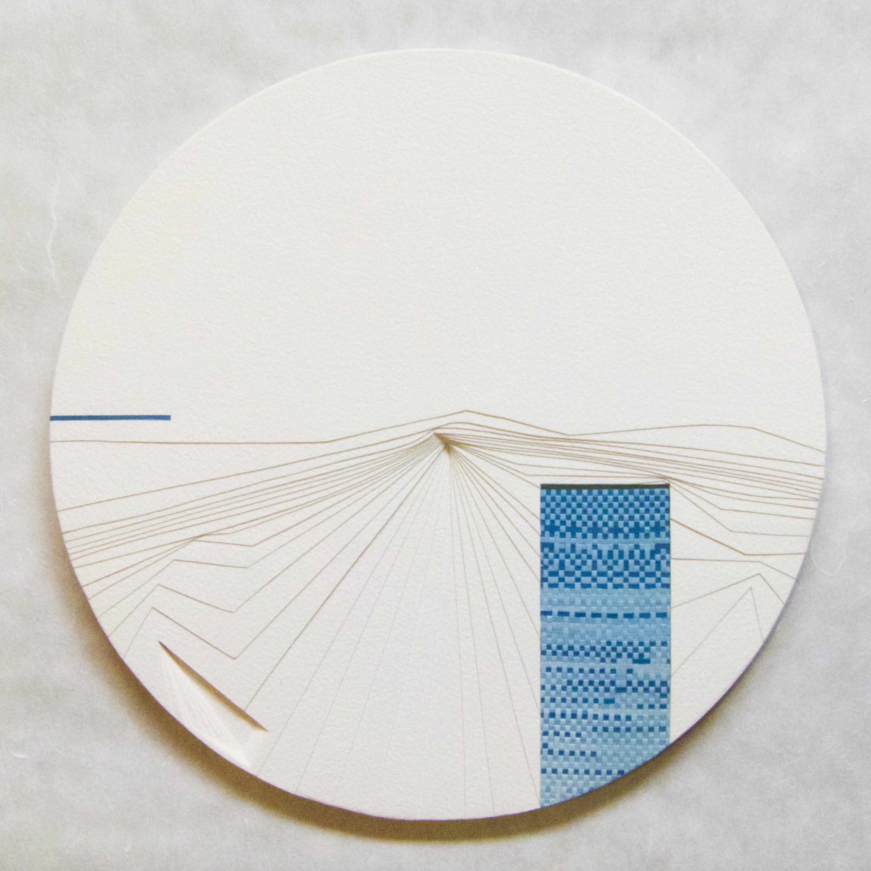 Cheng_Jacky_Water_1.3.2020_Bas Relief Paper sculpture_a