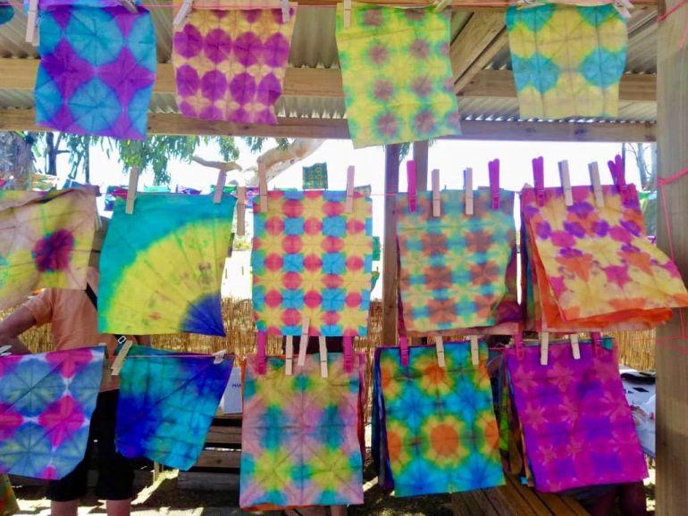 News - Shinju Paper dyeing